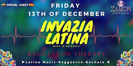 Invazia Latină ◆ 13 December ◆ ZAMON tickets