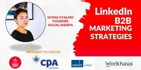 Linkedin B2B Marketing Strategies tickets