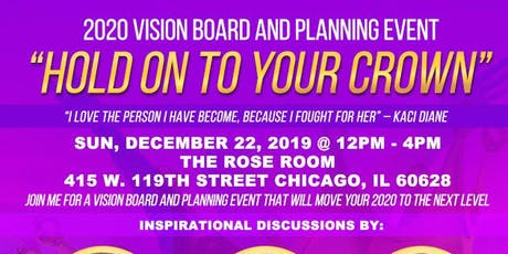 Let it Out Brands Presents - 2020 Vision Board and Planning Event  tickets