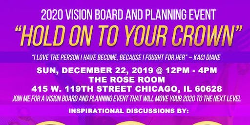 Let it Out Brands Presents - 2020 Vision Board and Planning Event