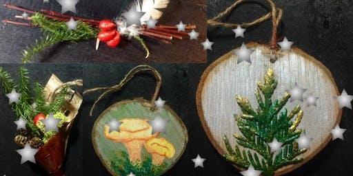 Atelier d'artisanat: Fabrication de décorations de Noël