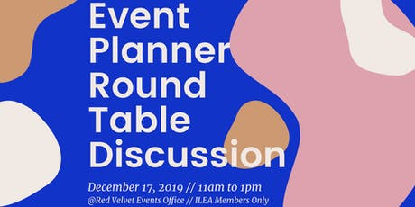 Event Planner Round Table Discussion tickets