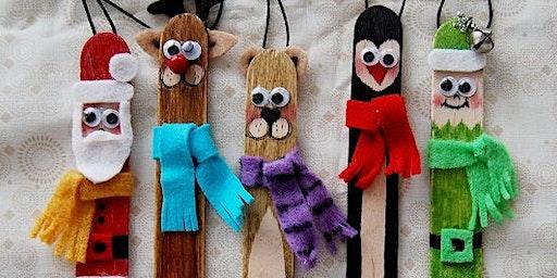Lolly Sticks Christmas Crafts Family Workshop (todas las edades)