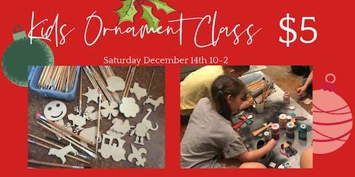Kids Ornament Class