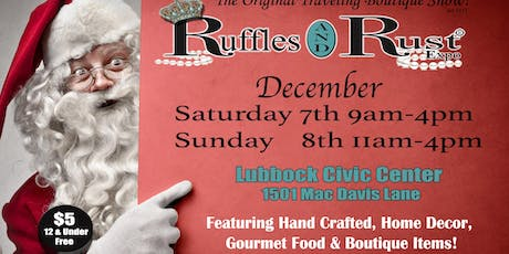 Ruffles and Rust Expo Lubbock tickets