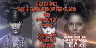 RED CARPET HAIR & FASHION RUNWAY SHOW