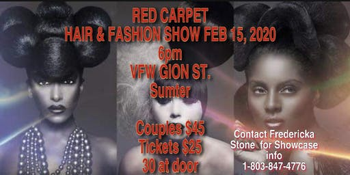 RED CARPET HAIR & FASHION RUNWAY SHOW