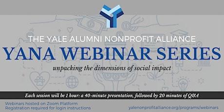 YANA Webinar   Using Blockchain to Drive Social Impact tickets