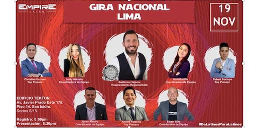 GIRA NACIONAL FLASH LIMA APERTURA