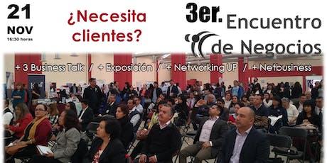 3er. Encuentro de Negocios CDMX boletos