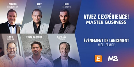 Lancement Master Business France billets