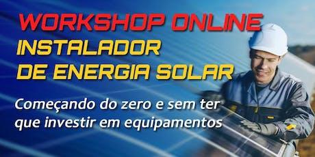 ►[GRÁTIS] CURSO DE ENERGIA SOLAR RJ - Do Zero e Sem Ter que Investir bilhetes
