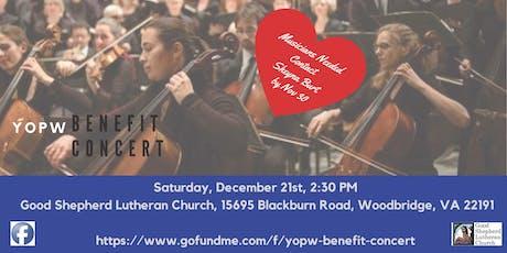 YOPW Benefit Concert tickets