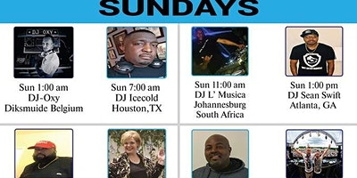 Sundays on Downtown Hott Radio