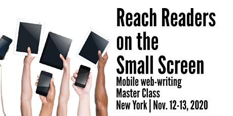 Reach Readers on the Small Screen in New York tickets