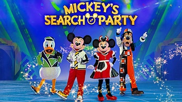 "Disney On Ice Presents ""Mickey's Search Party"""
