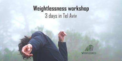 Weightlessness workshop - 3 days in Tel Aviv