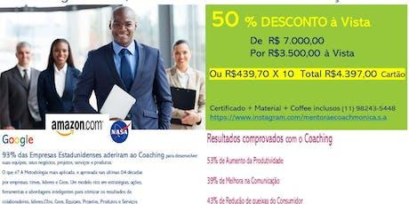 Formação em COACHING Business, Team and Executive  ingressos