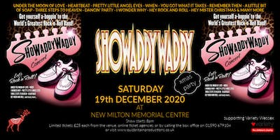 Showaddywaddy Xmas Party