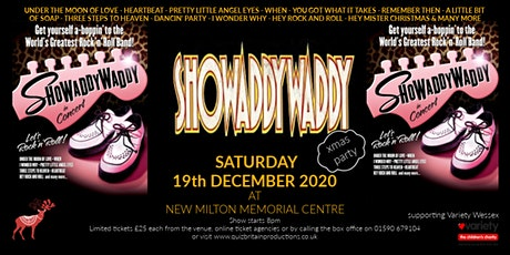 Showaddywaddy Xmas Party tickets