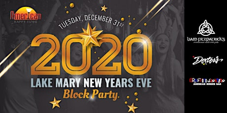 Lake Mary New Years Eve Block Party 2020 tickets
