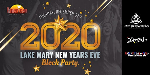 Lake Mary New Years Eve Block Party 2020