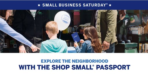 Small Business Saturday® | With The Shop Small® Eagle Passport