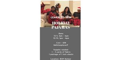Sewing Class  - 1 Day Pajamas Class