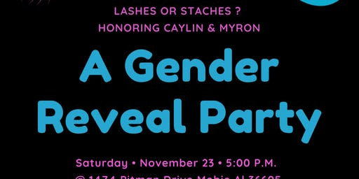 Caylin & Myron's Gender Reveal Party