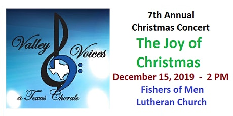 Valley Voices Christmas Concert tickets