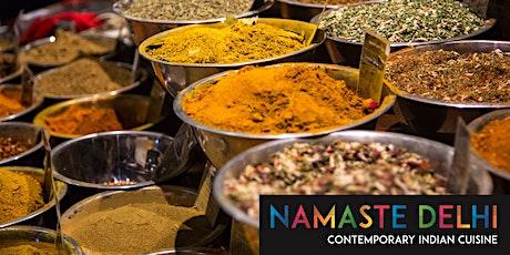 Namaste Delhi Cooking Masterclasses tickets
