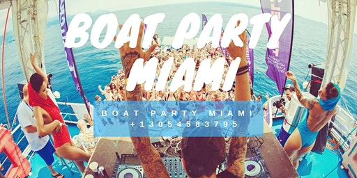 Miami Boat Party - Unlimited Drinks & Party Bus