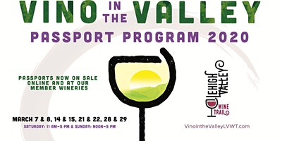 Vino in the Valley 2020 Passport Program - Lehigh Valley Wine Trail