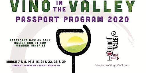Vino in the Valley 2020 Passport Program - Lehigh Valley Wine Trail