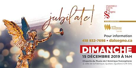 Concert « Jubilate! » billets