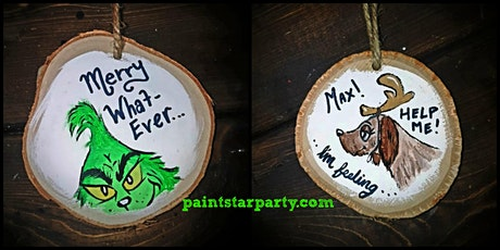 Paint Wooden Ornaments-Saturday Morning Event Coquitlam-Family Friendly tickets