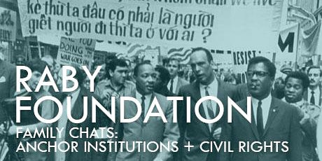Raby Foundation Family Chats:  Anchor Institutions tickets