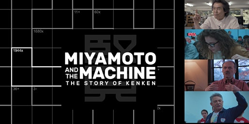 Boston Film Screening - Miyamoto and The Machine: The Story of KenKen