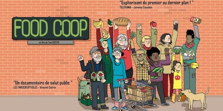 """Projection documentaire """"Food Coop"""" billets"""