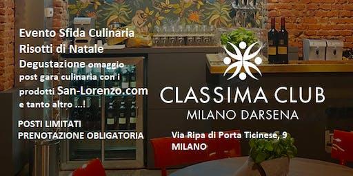 Sfida Culinaria e Degustazione Eccellenze Enogastronomiche a Milano