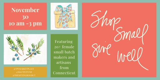 Shop Small, Give Well: a Small Batch + Artisanal Market