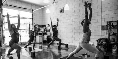 Stretch & Restore Yoga @ Dharma Yoga - Mid-City (12/8/19) tickets