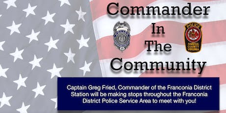 Commander In The Community - Annandale/North Springfield tickets