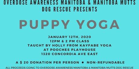 Puppy Yoga tickets
