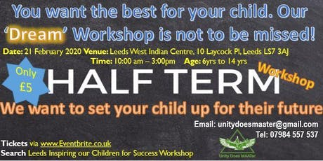 Inspiring our Children for Success Workshop tickets