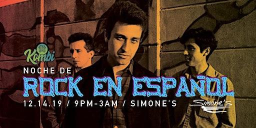 Rock en Español - night at Simone's
