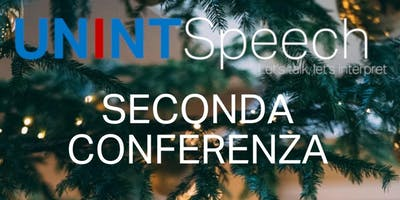 Conferenza UNINTSpeech