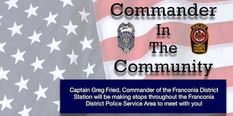 Commander In The Community - Rose Hill tickets