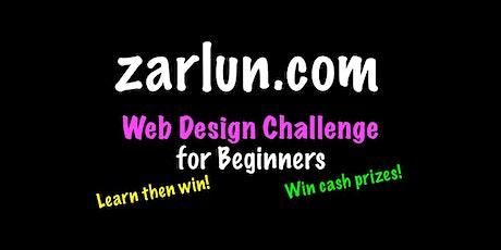 Web Design Course and Challenge - CASH Prizes Dallas EB tickets