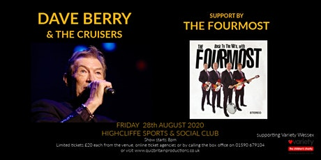 Dave Berry & Cruisers (support by Fourmost) tickets